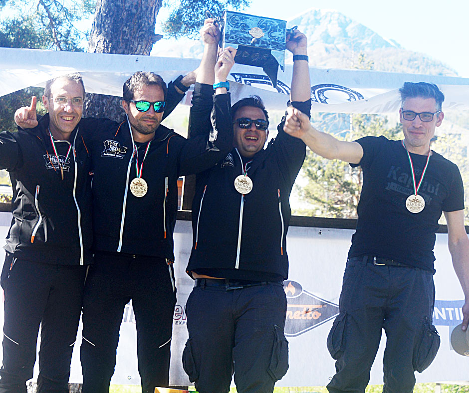 Bardo-Q Grand Champion: Sticky Fingers Barbecue Team, Italia