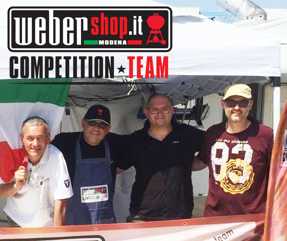 12° Weber Shop Modena Competition Team
