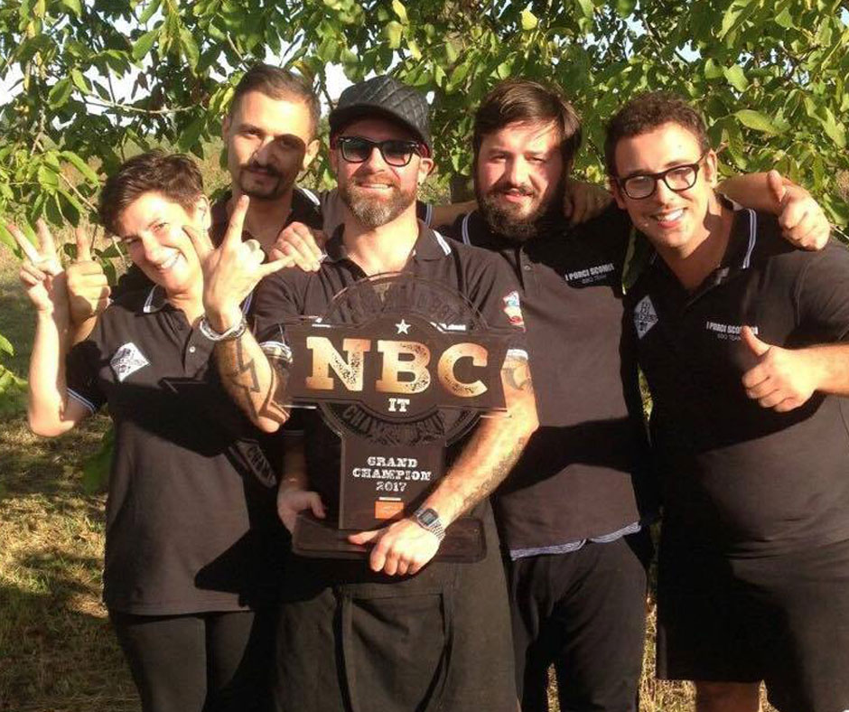 National Barbecue Championship 2017 Grand Champion (ex aequo) I Porci Scomodi