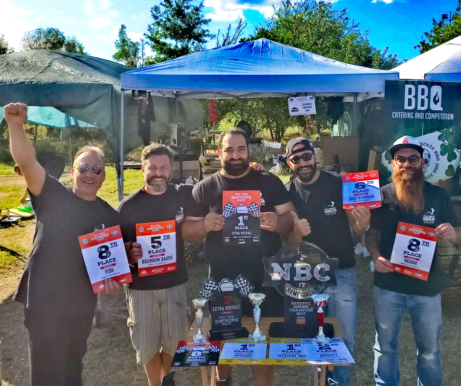 National Barbecue Championship 2017 Reserve Grand Champion Calabria Smoking BBQ