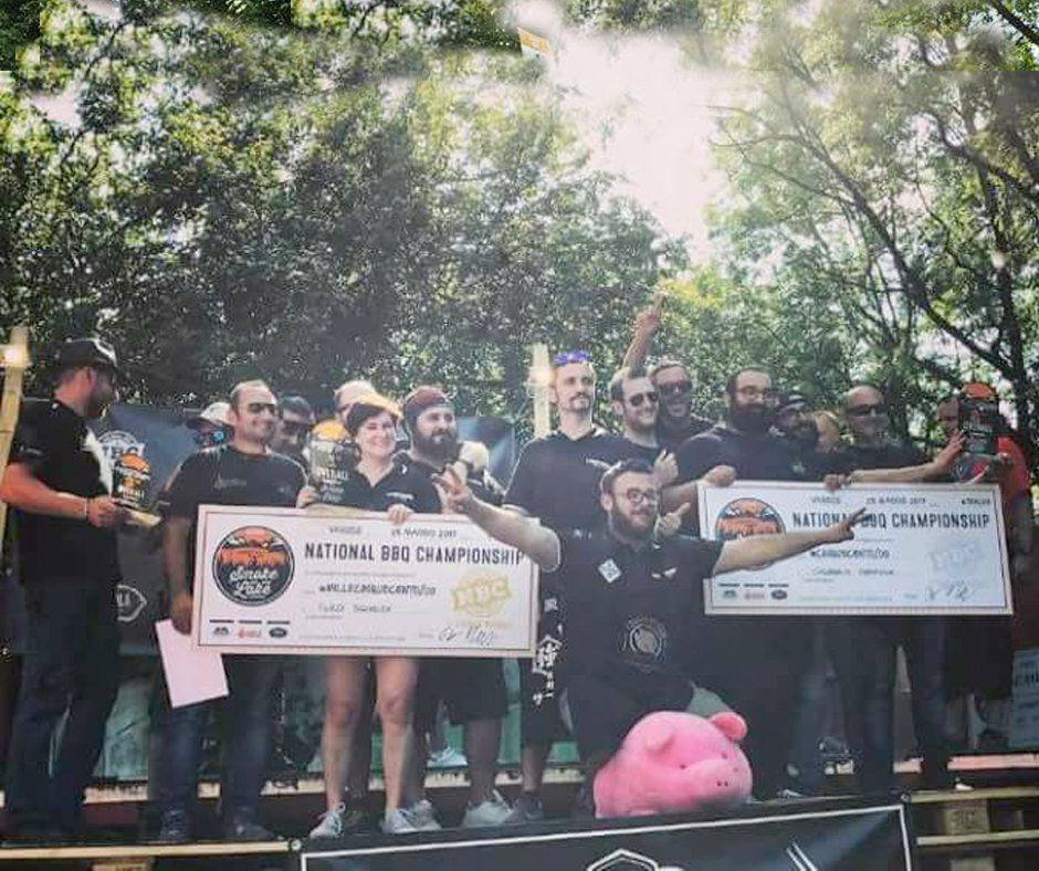 Overall - Third Place: Club Country Grill - Grand Champion: Torino Ribs - Reserve Grand Champion: The Leon Fellas