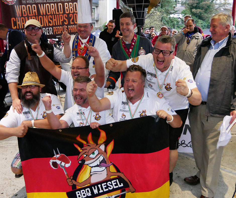 WBQA Overall World Champion 2017 BBQ Wiesel (DE)