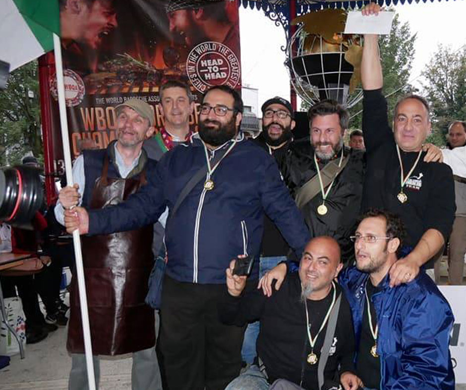 WBQA World BBQ Championships 2017 Fish 1º Calabria Smoking BBQ
