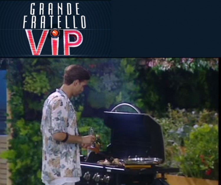 Grande Fratello VIP - BARBECUE PARTY