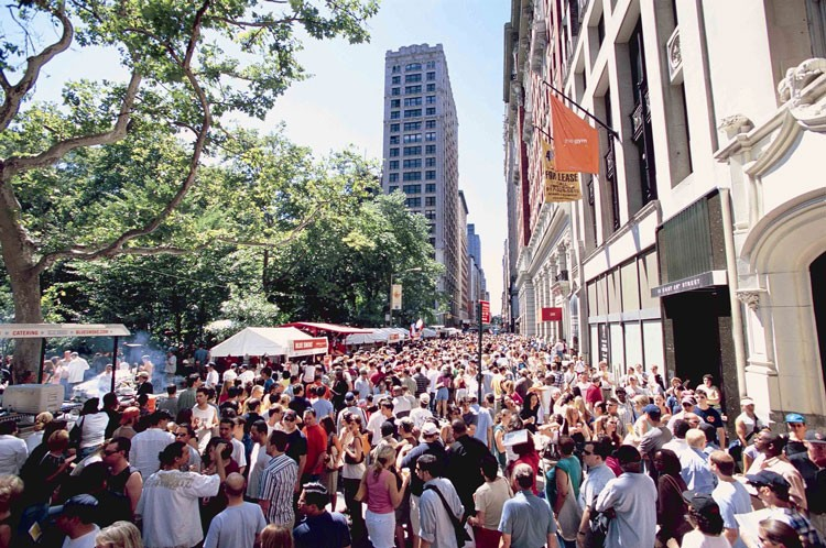 A New York la grande festa al Madison Square Park